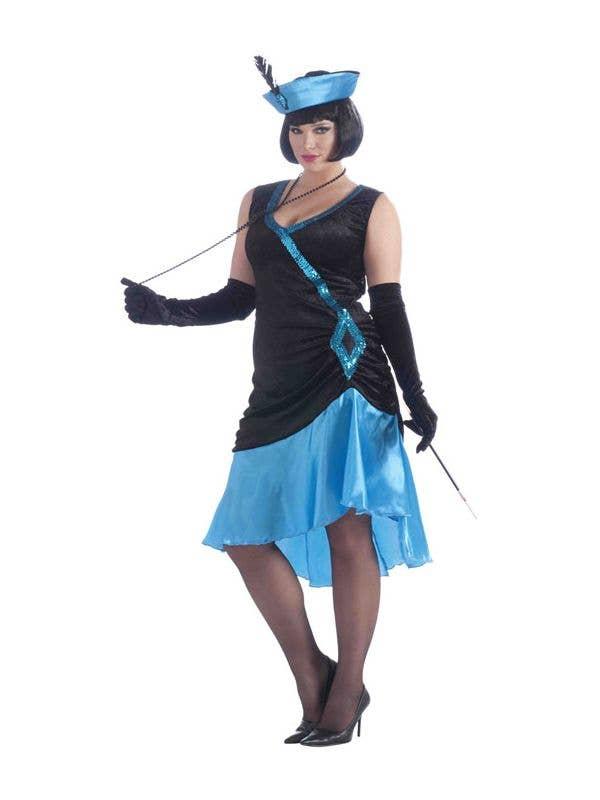 Betty Blue Women\'s Plus Size 1920\'s Flapper Costume