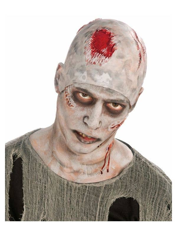 zombie corpse bald head cap