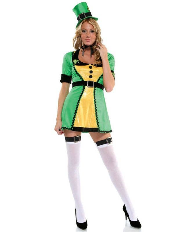 sc 1 st  Heaven Costumes & St. Patricku0027s Day Costumes | Lucky Charm Womenu0027s Irish Costume