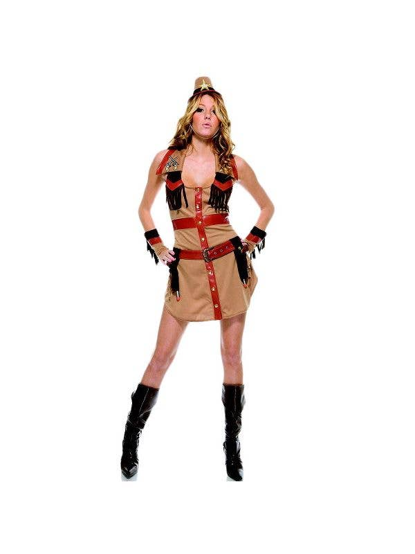 5f347cb6f2248 Wrangler Women's Sexy Cowgirl Costume