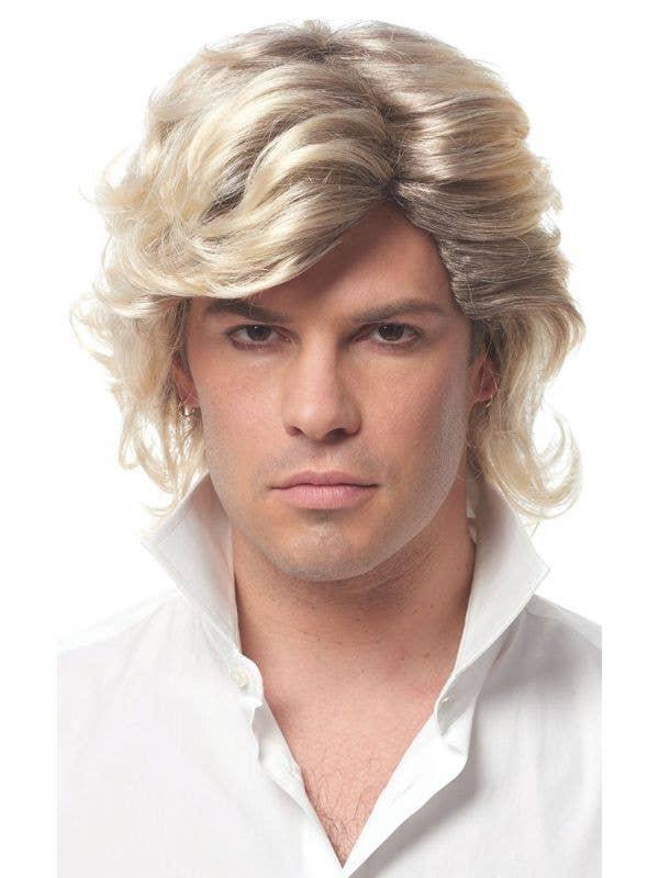 Men's 80's George Michael Inspired Costume Wig