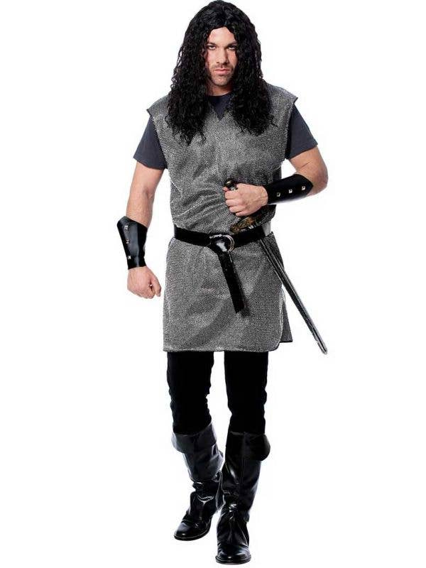 Medieval Knight Costume Medieval Chain Mail Armour Men S