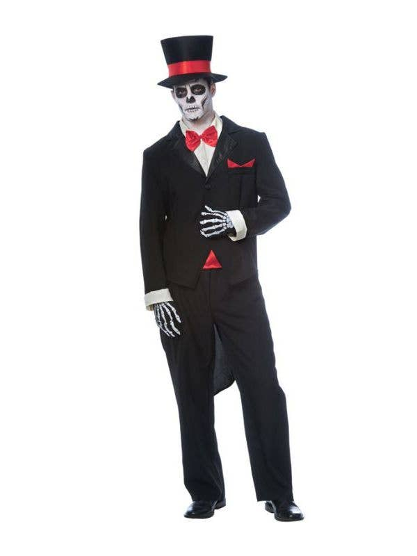 Mexican Day Of The Dead Mens Costume Mens Mexican Groom Costume