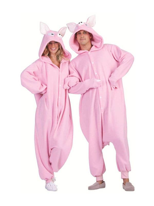Penelope Pig Unisex Adults  Onesie Costume aca511bdca11