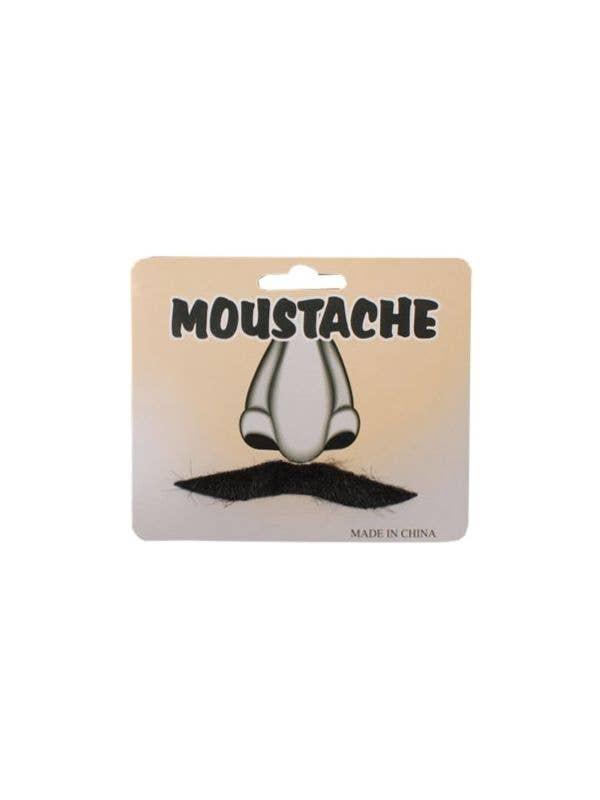 English Gentleman's Black Costume Accessory Moustache