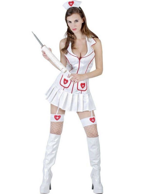 fad4b7f1d6f Knockout Sexy Nurse Costume | Women's Naughty Nurse Costume