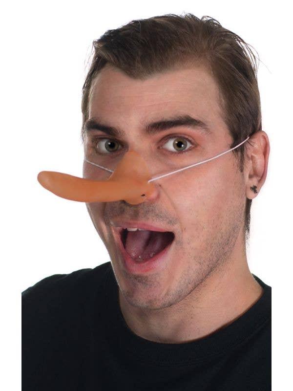Elasticated Pinocchio Nose Novelty Costume Accessory