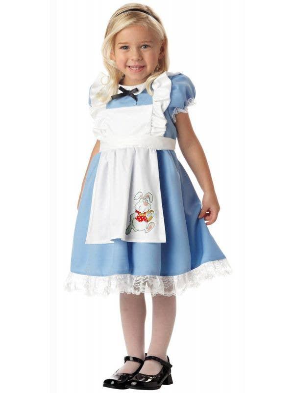 Girl's Fairytale Alice in Wonderland Book Week Costume Main Image