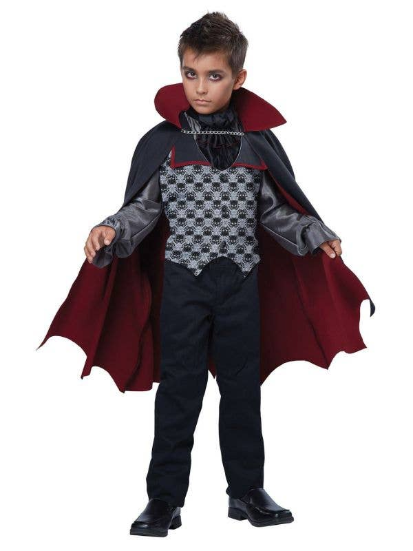Boys Count Bloodfiend Vampire Dress Up Costume