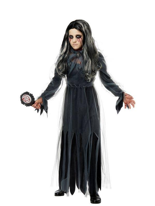 Bloody Mary Tween Girl's Halloween Fancy Dress Costume Main Image