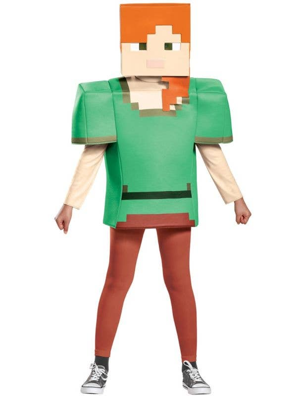 Girls Minecraft Alex Officially Licensed Disguise Costume Main Image