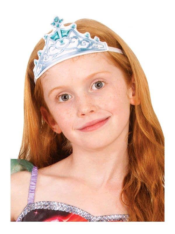 The Little Mermaid Girls Ariel Fabric Tiara Costume Accessory Main Image