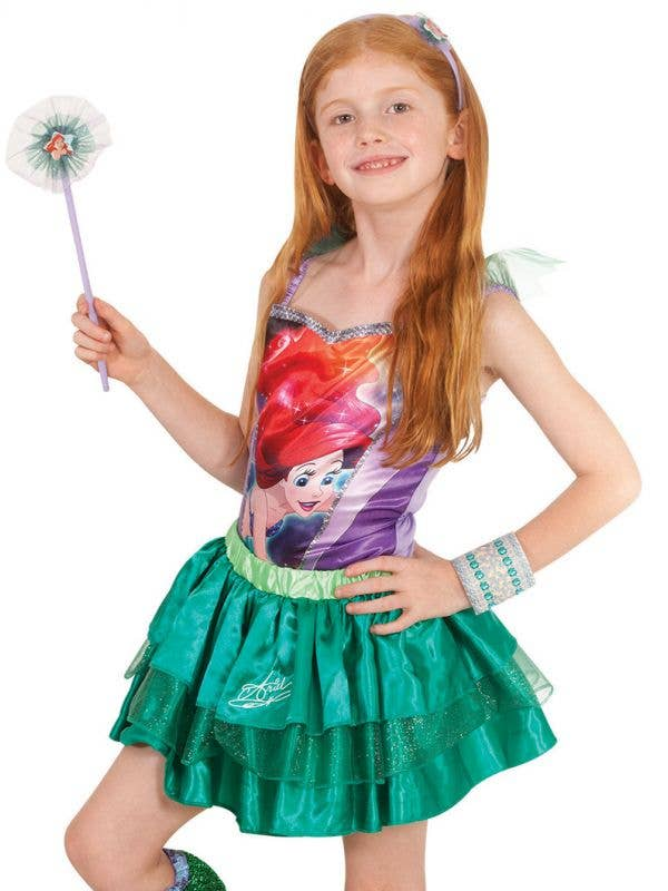 The Little Mermaid Girls Disney Ariel Tutu Skirt Main Image