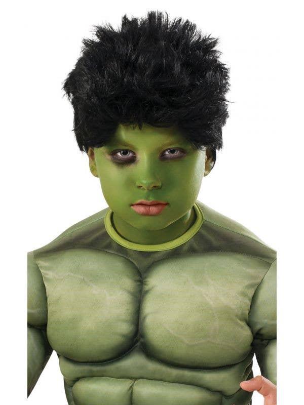 Avengers Incredible Hulk Boys Superhero Wig Costume Accessory