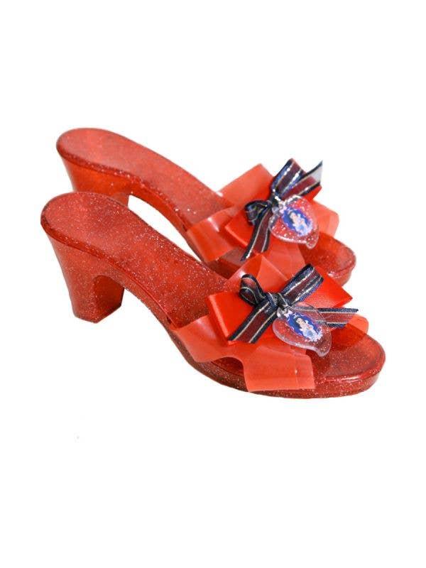 2e63988d31758 Disney Princess Girls Red Snow White Glitter Costume Shoes