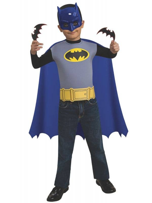 RUB-5295 Rubies classic brave and the bold batman boys costume accessory set Main Image