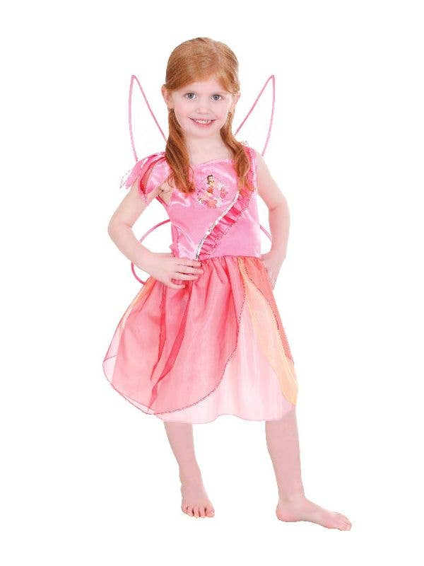 1b3db1c56e2 Girls Disney Costumes | Rosetta Girls Disney Pink Fairy Costume