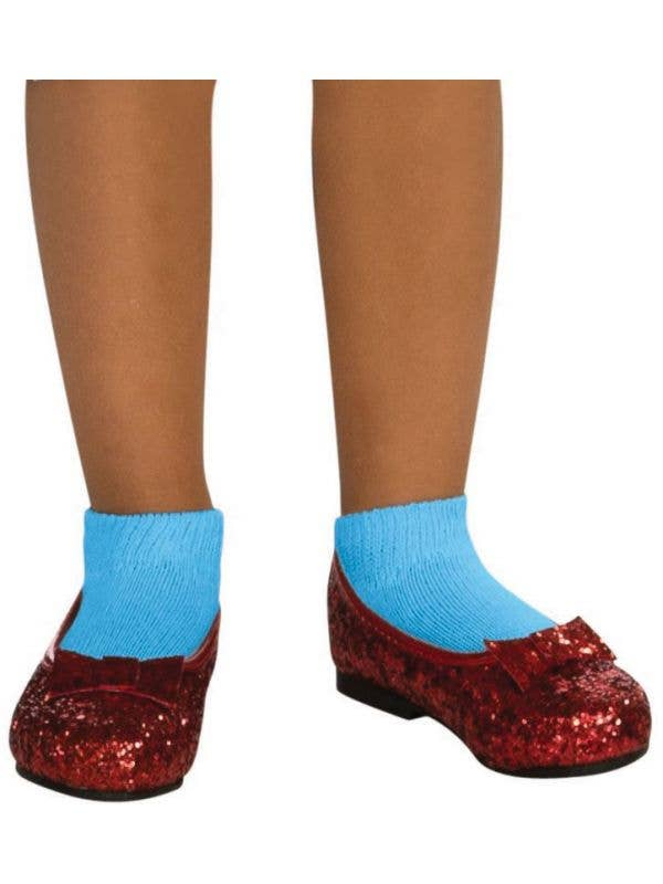 glitter dorothy ruby red slippers girls red dorothy costume shoes