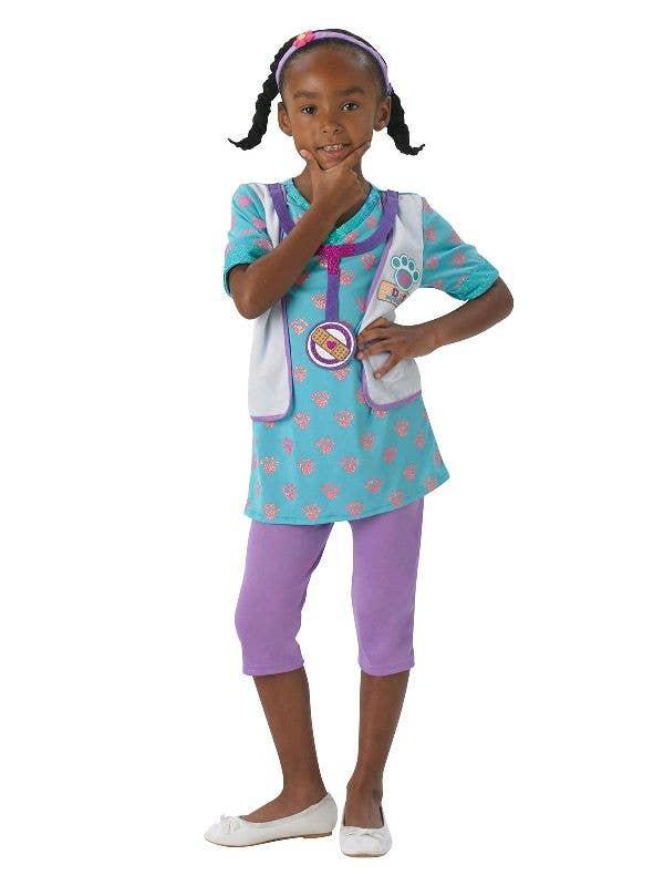 Doc McStuffins Girls Disney Junior Fancy Dress Costume Front Image