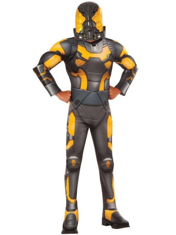 Yellowjacket Kids Villain Ant-Man deluxe costume main image