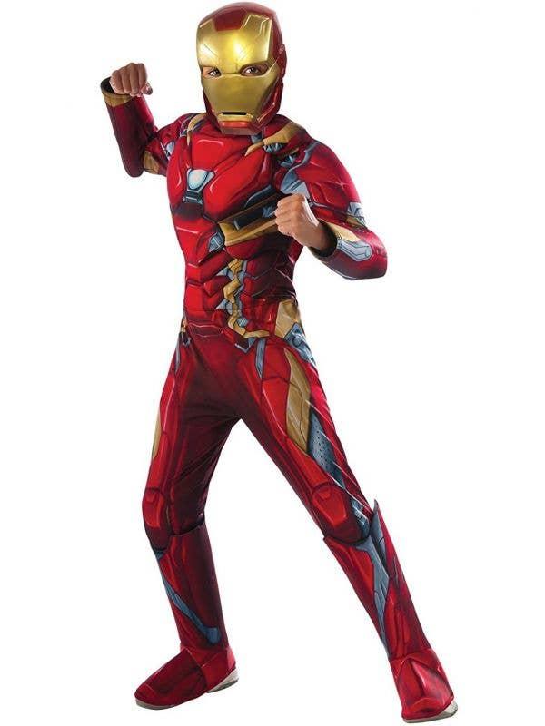 Kids Deluxe Iron Man Infinity War Avengers costume main image