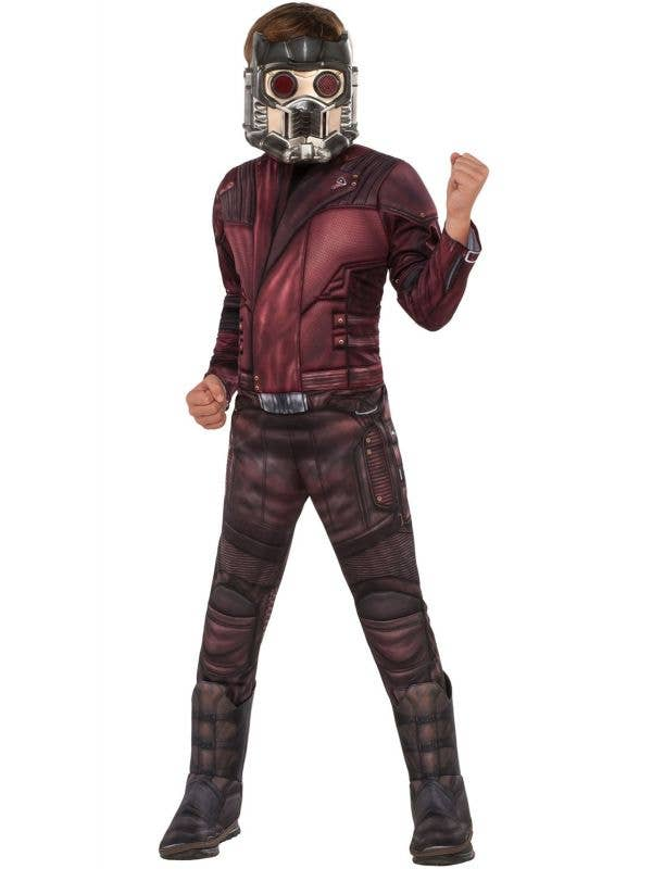 Star-Lord Peter Quill Guardians of the Galaxy Boy's costume Main Image