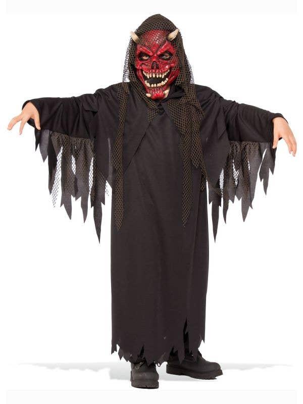 Boys Evil Demon Hell Raiser Halloween Costume Main Image