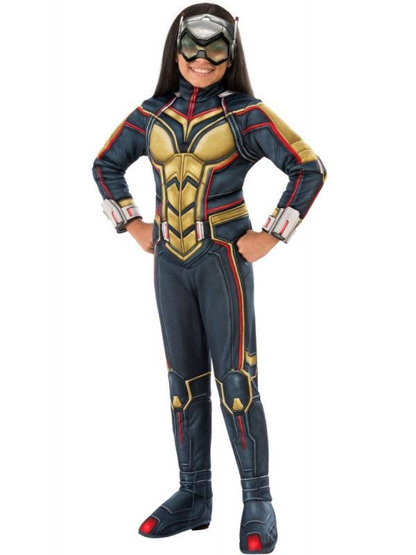 Ant-Man and the Wasp Girl's Marvel Superhero Avengers Fancy Dress Costume