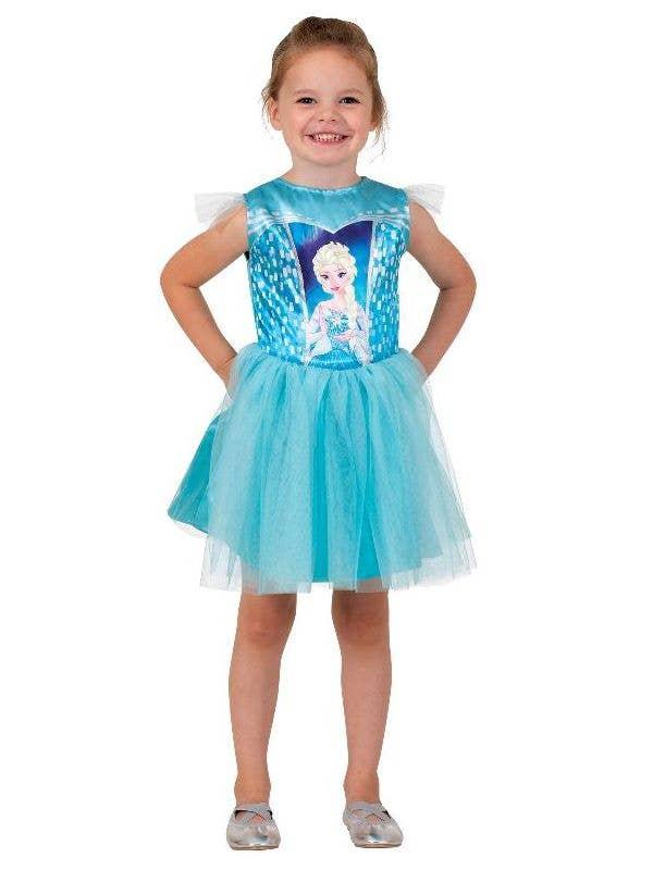 Elsa Frozen Girls Toddler Tutu Dress Fancy Dress Costume