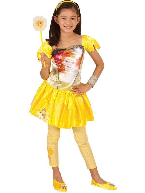 Disney Princess Belle Girls Character Tutu Skirt Main Image