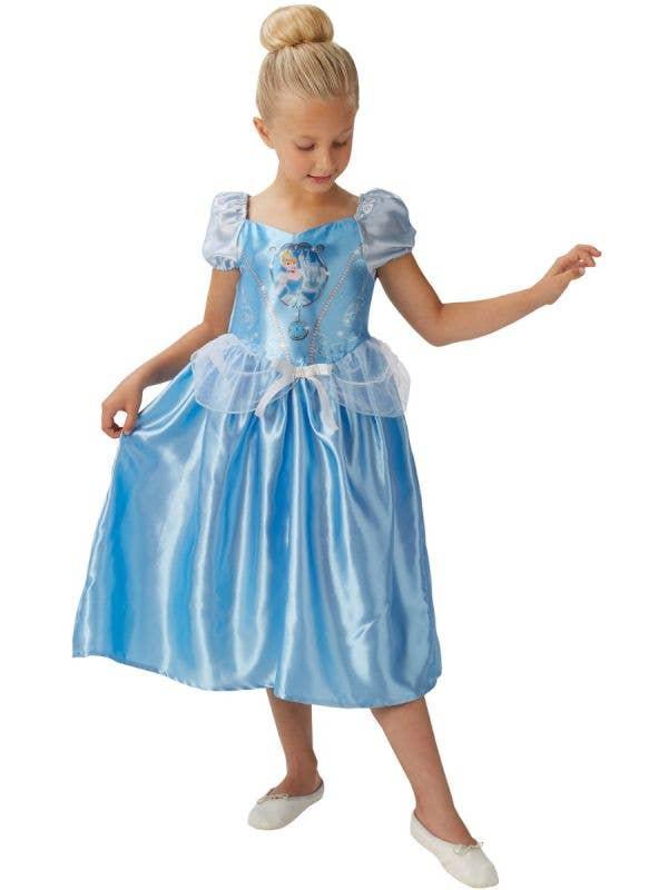 Fairytale Disney Princess Cinderella Girls Book Week Costume Front Image