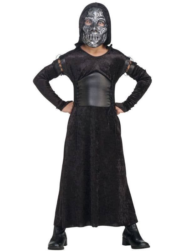 Girls Harry Potter Bellatrix Lestrange Death Eater Costume Main Image