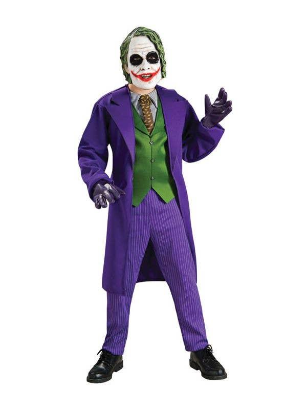 Boy s Joker Book Week Batman Villain Costume Front 3c53a55fd