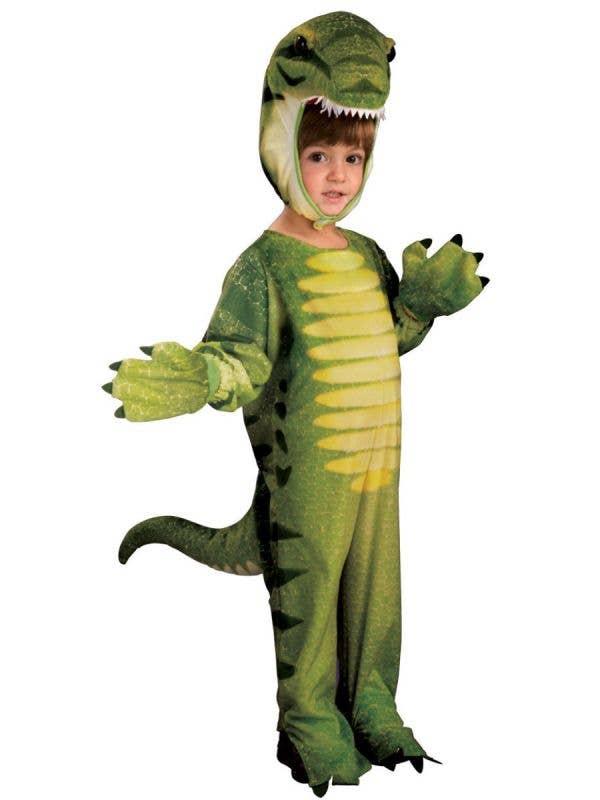 Boy's Dino-Mite Dinosaur Jurassic Animal Fancy Dress Costume Main Image