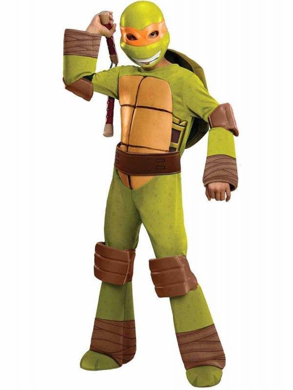 Boys Michelangelo Teenage Mutant Ninja Turtle Costume