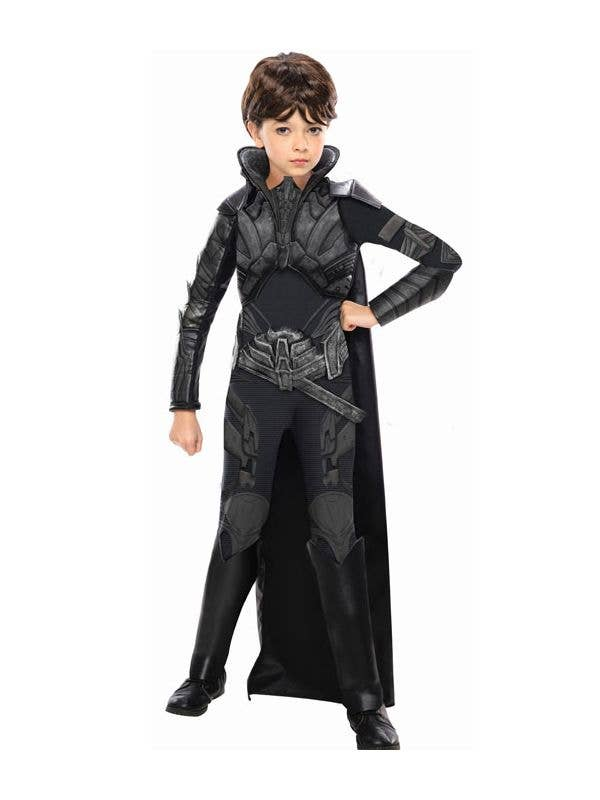 Girl's Faora Villain Costume Front View