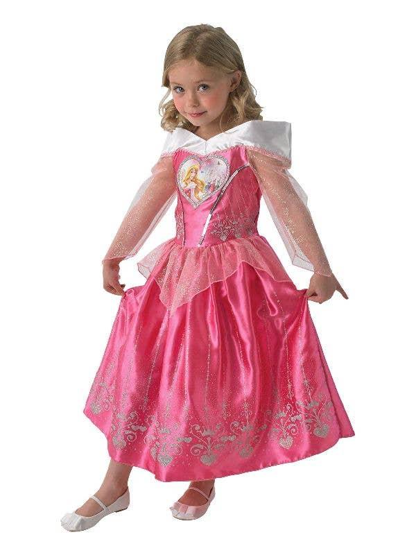 4faa12585a7d3 Rubies Girl's Officially Licensed Sleeping Beauty Disney Princess Book Week  Costume - Main Image