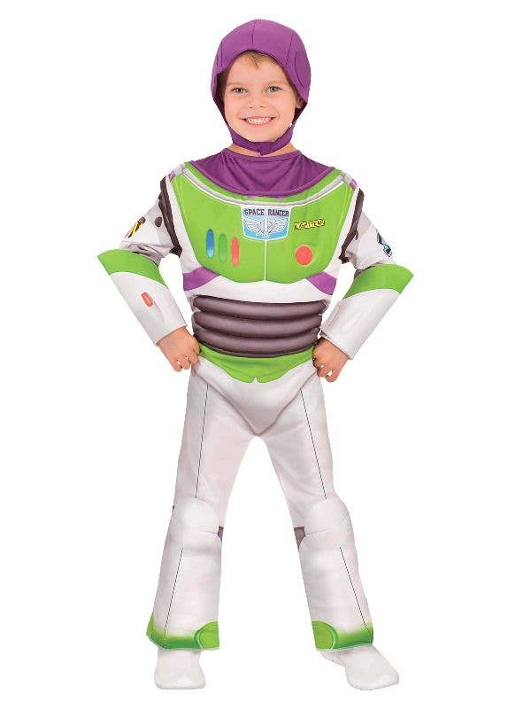 Officially Licensed Toy Story 4 Buzz Lightyear Boy Fancy Dress Costume - Main Image