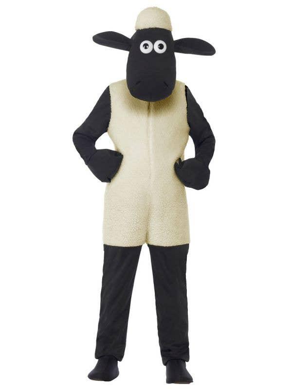 Boys Shaun The Sheep Fancy Dress Costume Front View