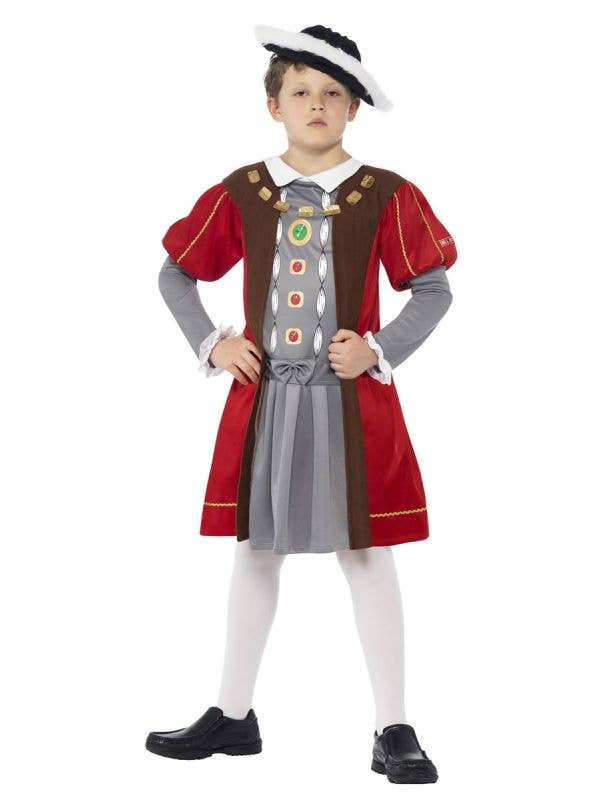 Boys King Henry the 8th Book Week Costume Front View
