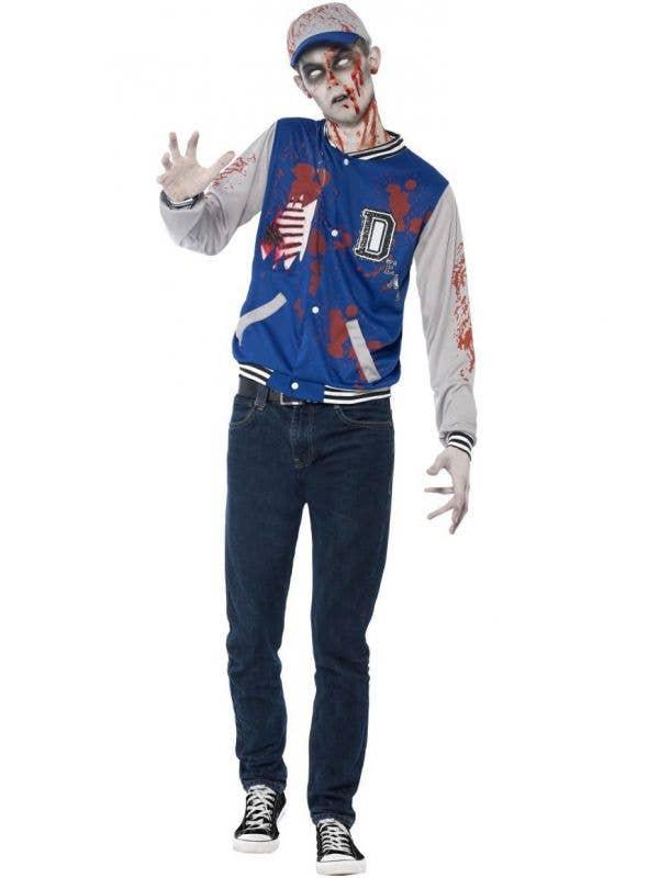 Zombie Athlete Boys Teen Undead Jock Halloween Costume Main Image