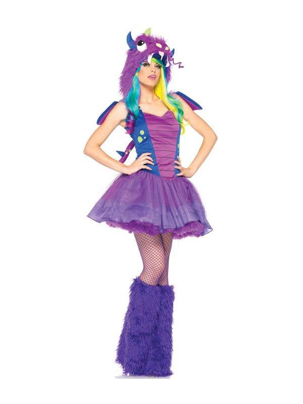 Dragon Women\'s Halloween Costume | Purple Dragon Sexy Costume
