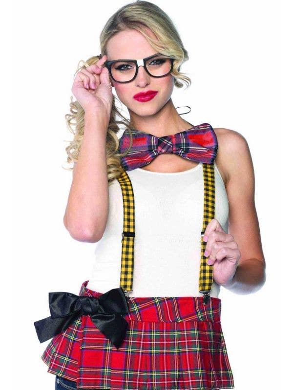 Schoolgirl Women's Nerd Costume Accessory Set