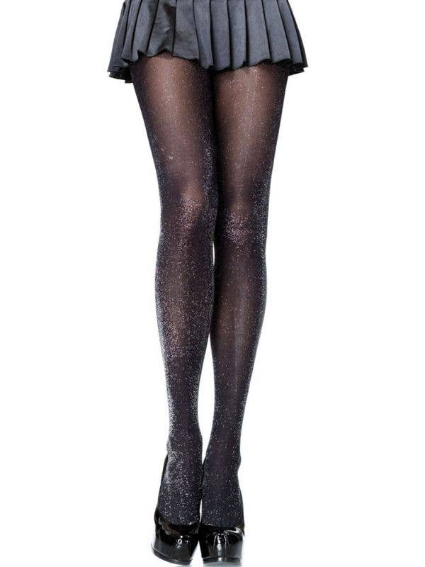 Women's 1980's Lurex Costume Stockings by Leg Avenue