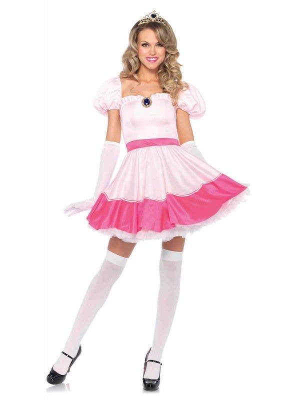 Women's Sexy Princess Peach Costume