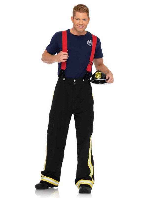 Men's Fire Captain Fancy Dress Costume Main Image
