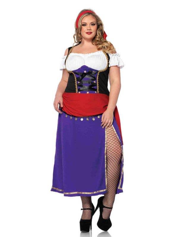Gypsy Fortune Teller Plus Size Women's Costume