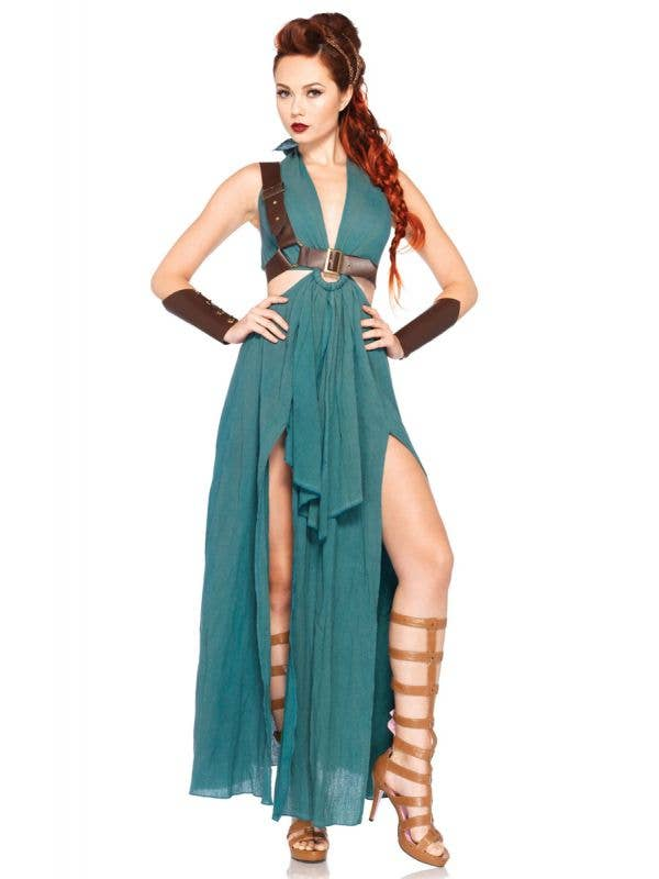 Roman Warrior Sexy women's Costume Front Vew