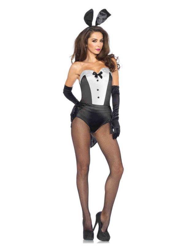 Tuxedo Bunny Sexy Women's Costume Main Image