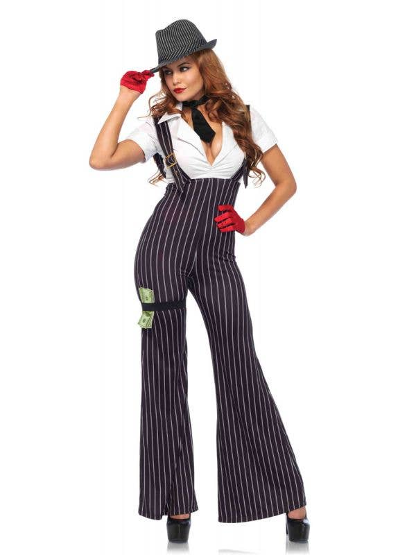 1920's Gangster Sexy Women's Costume Main Image